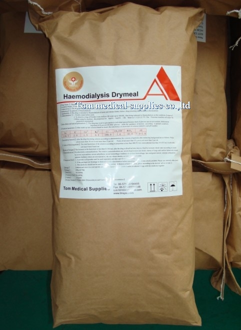 hemodialysis concentrate for dialysis machine